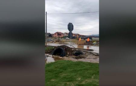 Muncitorii au spart conducata de apa Ciucas si au afectat o fabrica de bere si un spital