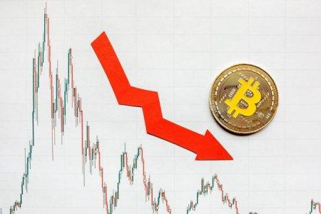 Zi neagra pe piata criptomonedelor. Cadere pentru Bitcoin si Ether