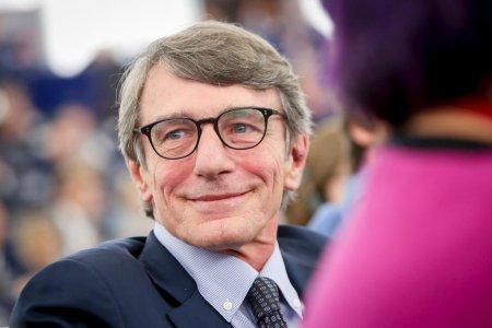 Presedintele Parlamentului European, David Sassoli, spitalizat din cauza unei pneumonii