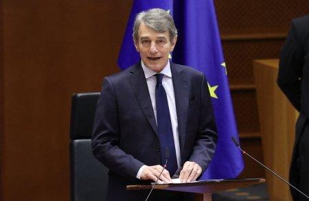 Presedintele Parlamentului European, internat cu pneumonie