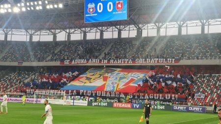 CSA Steaua pierde primele puncte pe teren propriu