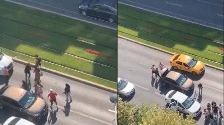 Europol, despre o bataie cu crosele in Bucuresti: S-a jucat la sange, cu multa patima si pasiune