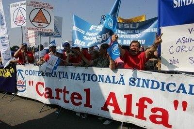 Cadoul sindicalistilor pentru Congresul PNL: Un protest!