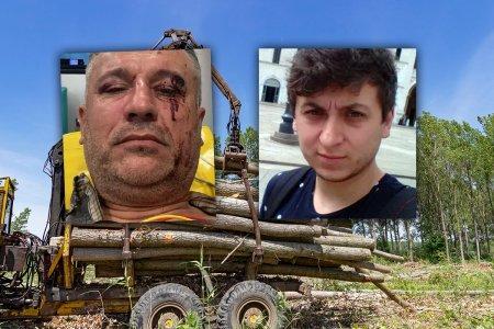 Activistul de mediu Tiberiu Bosutar acuza institutiile publice ca ii apara pe cei care l-au batut