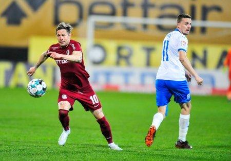 Liga 1: CFR Cluj - CS <span style='background:#EDF514'>U CRAIOVA</span> 1-0. Prima victorie pentru antrenorul Dan Petrescu, la campioana en-titre (Video)