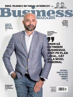 Ce puteti citi in noul numar al revistei Business Magazin: interviuri cu liderii din sanatate, idei de business de la antreprenorul care a dizolvat regulile mobilitatii, plus un dosar al <span style='background:#EDF514'>CAMPION</span>ilor de business ascunsi