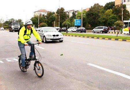 Concurs inedit la Oradea, intre <span style='background:#EDF514'>MASINA</span>, autobuz, tramvai si bicicleta. Cine a parcurs cel mai repede distanta