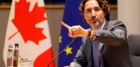 Pariul riscant al premierului canadian ar putea provoca un cutremur in Europa. Trudeau e umar la umar cu oponentul sau conservator