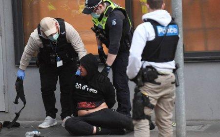 A fost, din nou, haos pe strazile din Melbourne. Noi ciocniri intre protestatari si politie. VIDEO