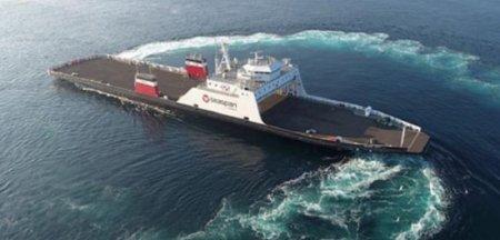 Prima nava propulsata cu gaz natural lichefiat construita in Romania, o premiera pentru industria navala