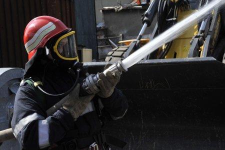 Incendiu la o rafinarie: Mesaj Ro Alert pentru populatie