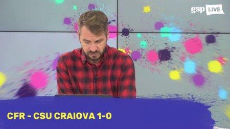 CFR CLUJ. Ștefan Gadola dupa victoria celor de la CFR cu CS<span style='background:#EDF514'>U CRAIOVA</span>: Se vad schimbari, au fost mult mai motivati