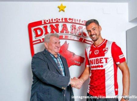 Dinamo isi intareste apararea cu un portughez