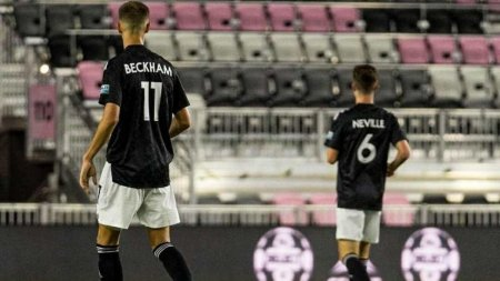 Romeo Beckham, tinta ironiilor dupa debutul in fotbalul profesionist: Se vede ca a mostenit-o pe mama lui!
