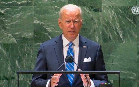 Joe Biden, in discursul de la ONU: Lumea democratica t<span style='background:#EDF514'>RAIE</span>ste in mandrii moldoveni