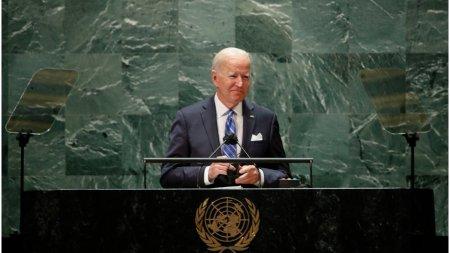 Lumea democratica t<span style='background:#EDF514'>RAIE</span>ste in mandrii moldoveni, care au obtinut o victorie pentru fortele democratice, a spus Biden in discursul sau la ONU
