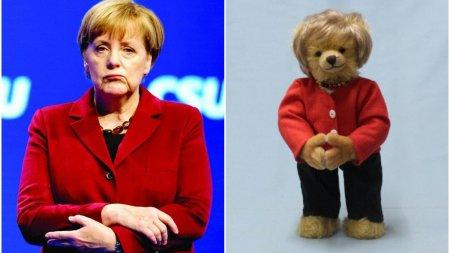 Ursul de plus Angela Merkel a aparut pe piata, si costa 189 de euro