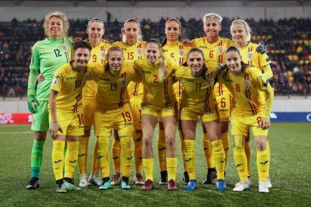 Fotbal feminin. Romania a invins Lituania si are maxim de puncte in preliminariile Cupei Mondiale