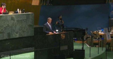 Klaus Iohannis, la ONU: Trebuie sa ne asiguram cu totii ca restrictiile legate de COVID-19 nu amplifica incalcarile drepturilor omului