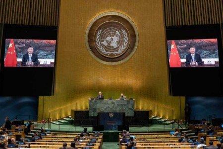 ONU:  and #39; and #39;China anunta donarea a 2 miliarde de doze de vaccin si renunta la proiecte energetice pe baza de carbune in strainatate and #39; and #39;