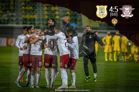 Rapid merge mai departe in Cupa Romaniei la fotbal