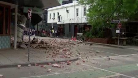 Un cutremur puternic a zguduit sud-estul Australiei. Cladiri avariate la Melbourne