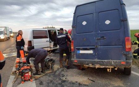 Accident ingrozitor pe DN2. Patru persoane au murit