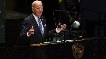Biden a promis la <span style='background:#EDF514'>ADUNAREA</span> Generala a ONU un ajutor de 10 miliarde de dolari pentru combaterea foametei