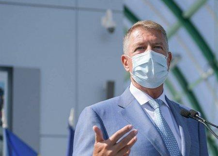 Presedintele Iohannis declara ca vaccinarea va trebui sa devina obligatorie pentru anumite categorii din domenii esentiale