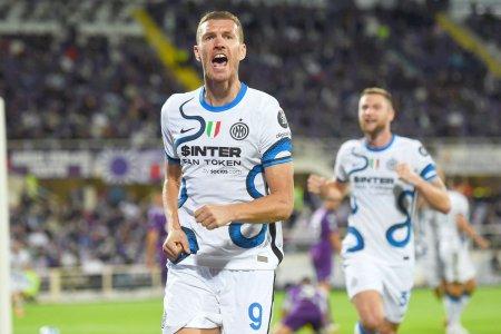 Inter Milano egaleaza recordurile. Dzeko, golgeter la 35 de ani si replica amuzanta: Il voi intreba pe Mister daca a baut ceva...