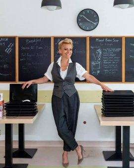 Scoala privata Olga Gudynn a investit 9 mil.euro in renovarea campusului din Pipera, printr-un <span style='background:#EDF514'>CRED</span>it acordat de Garanti BBVA Romania