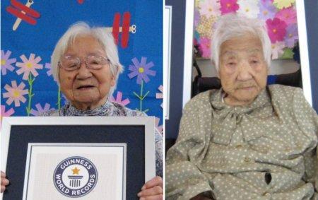 Doua femei de 107 ani din Japonia au stabilit un nou record mondial pentru cei mai in varsta gemeni din lume