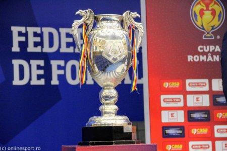 LIVE Cupa Romaniei: Noua meciuri programate in 16-imi