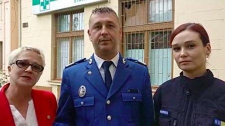 Gest impresionant al jandarmilor din Caras-Severin: Au renovat si pictat un spital din Resita in 100 de zile