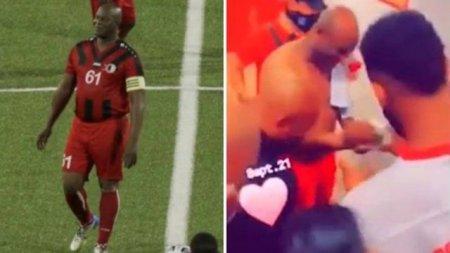 Ronnie Brunswijk, vicepresedintele Surinamului, a jucat intr-un meci oficial de fotbal la 60 de ani!