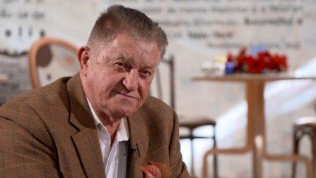 Cu ce se ocupa actorul Dorel Visan, in varsta de 84 de ani, dupa retragerea de pe scena. Aia nu muncesc. Lucreaza altii pentru ei