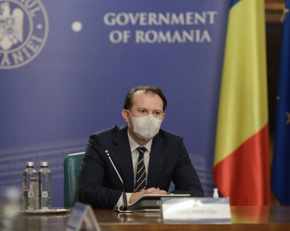 Premierul Florin Citu s-a intalnit cu cei doi jurnalisti si cu activistul de mediu agresati recent intr-o padure din Suceava
