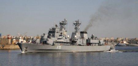 Fregata Marasesti, cea mai mare nava de razboi construita vreodata in Romania, intra in reparatii