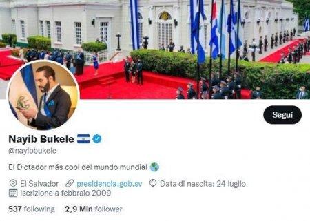 Nayib Bukele, presedintele statului El Salvador, ii batjocoreste pe <span style='background:#EDF514'>TWITTER</span> pe protestatarii anti-Bitcoin