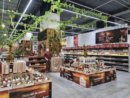 Targul de Vinuri Auchan editia 2021 este dedicata vinurilor romanesti - peste 285 de sortimente la raft