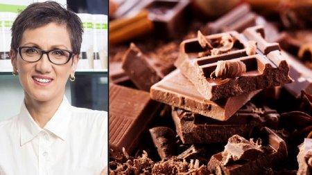 <span style='background:#EDF514'>NUTRI</span>tionist Corina Zugravu, despre beneficiile ciocolatei. Cand este sanatos sa o mancam si in ce cantitati