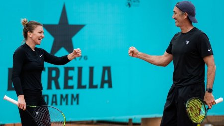 Si<span style='background:#EDF514'>MONA</span> Halep renunta din nou la antrenorul Darren Cahill