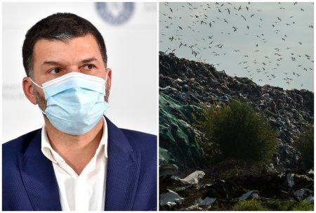 In ziua demiterii lui Berceanu de la Garda de Mediu s-au terminat controalele la una dintre gropile unde se arunca gunoi din Bucuresti: Sunt nereguli!