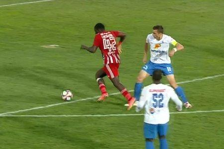Inexplicabil! Farul, dezavantajata clar in meciul cu Sepsi: penalty inventat pentru covasneni!