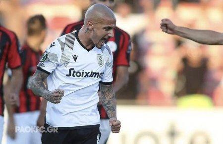Mitrita a marcat din nou pentru PAOK si a facut-o cu capul! (VIDEO)