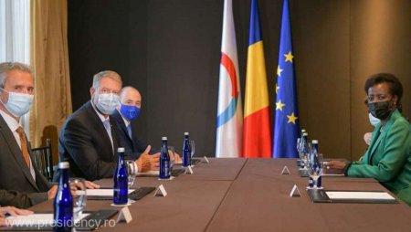 Presedintele Iohannis a discutat cu secretarul general al OIF despre colaborarea in domeniile educatiei si cercetarii