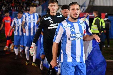 Fotbalistii Hunedoarei, dupa revenirea miraculoasa contra celor de la FCSB: A fost o minune