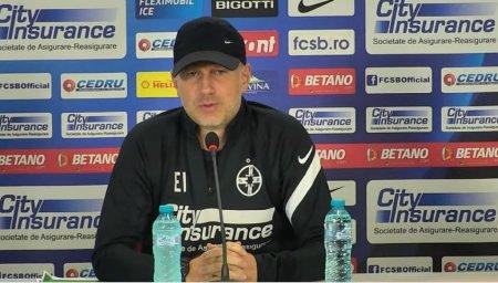 Edi Iordanescu anunta sanctiuni dupa cele trei goluri primite la Hunedoara: O mentalitate pe care nu pot s-o accept