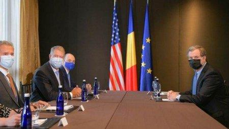 Klaus Iohannis a exprimat ingrijorarea fata de cresterea discursului antisemit la o intrevedere cu presedintele executiv al American Jewish Committee