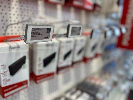 Altex a introdus etichetele electronice in toate magazinele din tara